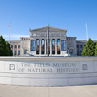 The Field Museum of Natural History in Chicago is located in Museum Campus along Lake Shore Drive and Lake Michigan and is a popular attraction.