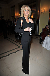 LADY COSIMA SOMERSET at a party to celebrate the publiction of 'No Invitation Required' by Annabel Goldsmith, held at Claridge's, Brook Street, London on 11th November 2009.