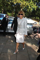 ANNA WINTOUR at the memorial service of Isabella Blow held at the Guards Chapel, London W1 on 18th September 2007.<br /><br />NON EXCLUSIVE - WORLD RIGHTS