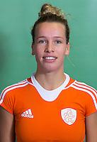 DELFT - Lieke Hulsen . Nederlands zaalhockeyteam dames voor EK in Minsk. COPYRIGHT KOEN SUYK