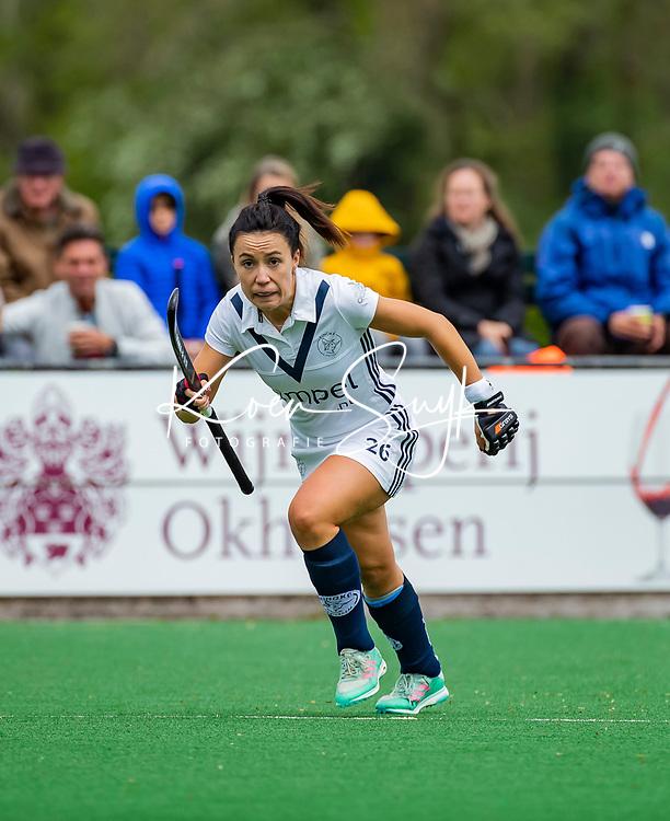 BLOEMENDAAL -  Anna O'Flanagan (Pin)   , Libera hoofdklasse hockey Bloemendaal-Pinoke (0-0). COPYRIGHT KOEN SUYK