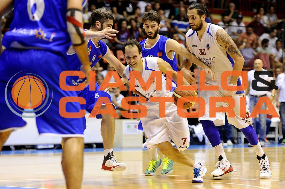 DESCRIZIONE : Forli DNB Final Four 2014-15 Npc Rieti BCC Agropoli<br /> GIOCATORE : Nicolas Manuel Stanic<br /> CATEGORIA : palleggio penetrazione<br /> SQUADRA : Npc Rieti<br /> EVENTO : Campionato Serie B 2014-15<br /> GARA : Npc Rieti BCC Agropoli<br /> DATA : 13/06/2015<br /> SPORT : Pallacanestro <br /> AUTORE : Agenzia Ciamillo-Castoria/M.Marchi<br /> Galleria : Serie B 2014-2015 <br /> Fotonotizia : Forli DNB Final Four 2014-15 Npc Rieti BCC Agropoli