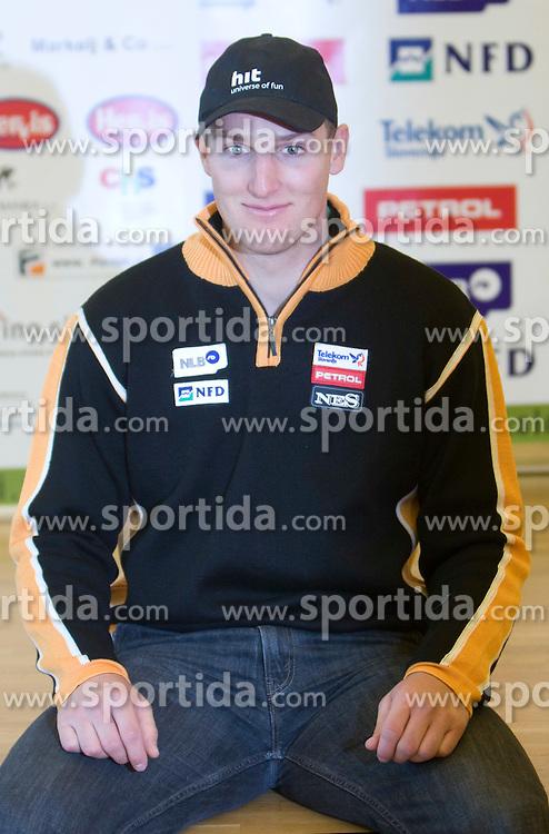 Andrej Sporn of Slovenian Alpine Ski Team before new season 2008/2009, on Septembra 25, 2008, Ljubljana, Slovenia. (Photo by Vid Ponikvar / Sportal Images)
