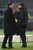 Angelo Alessio e Antonio Conte allenatore Juventus.Roma 29/1/2013 Stadio Olimpico.Football Calcio 2012/2013 coppa Italia.Lazio Vs Juventus .Foto Andrea Staccioli Insidefoto