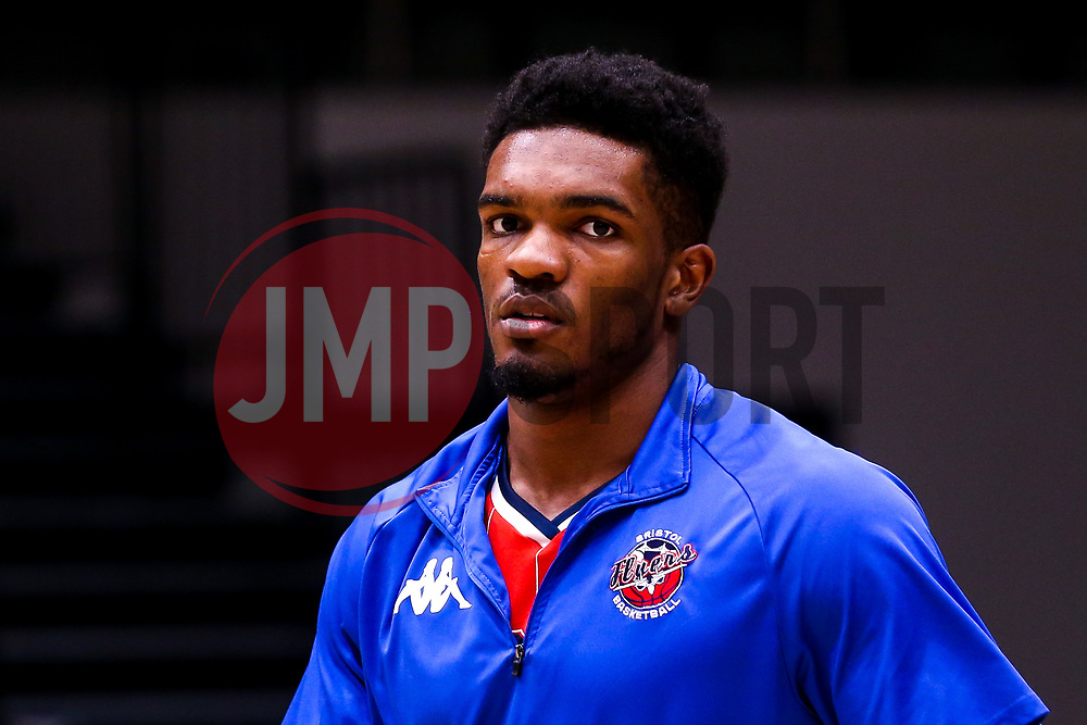 Marcus Delpeche of Bristol Flyers - Photo mandatory by-line: Robbie Stephenson/JMP - 01/03/2019 - BASKETBALL - Eagles Community Arena - Newcastle upon Tyne, England - Newcastle Eagles v Bristol Flyers - British Basketball League Championship