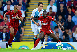 BLACKBURN, ENGLAND - Thursday, July 19, 2018: Liverpool's new signings Fabio Henrique Tavares 'Fabinho' (left) and Naby Keita during a preseason friendly match between Blackburn Rovers FC and Liverpool FC at Ewood Park. (Pic by David Rawcliffe/Propaganda)