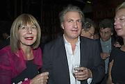 CAROLE STONE AND STEFAN SHAKESPEARE, CAROLE STONE PARTY.Middle Temple Hall. Middle Temple Lane. London EC4. -DO NOT ARCHIVE-© Copyright Photograph by Dafydd Jones. 248 Clapham Rd. London SW9 0PZ. Tel 0207 820 0771. www.dafjones.com.