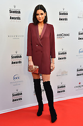 Lilah Parsons attending the Scottish Fashion Awards, at the Rosewood Hotel in London. Picture date: Friday October 21, 2016. Photo credit should read: Matt Crossick/ EMPICS Entertainment.