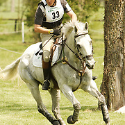 Carl Bouckaert and Rampant Lion at the 2007 Rolex Kentucky Three Day Event in Lexington,  KY