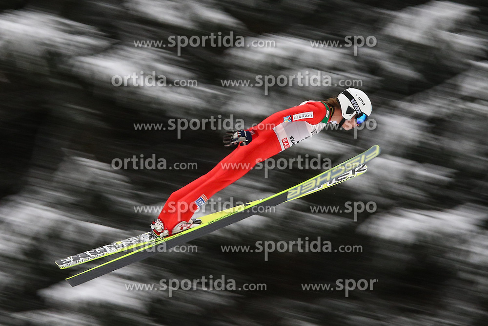 30.01.2015, Skisprungstadion, Predazzo, ITA, FIS Weltcup Nordische Kombination, Val di Fiemme, Skisprung, im Bild Espen Andersen (NOR) // during Skijumping of the FIS Nordic Combined World Cup Val di Fiemme Skisprungstadion in Predazzo, Italy on 2015/01/30. EXPA Pictures © 2015, PhotoCredit: EXPA/ Alice Russolo