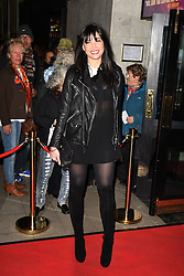 Daisy Lowe attends the opening night of Fire in the Ballroom by dance company Burn the Floor at The Peacock in London.