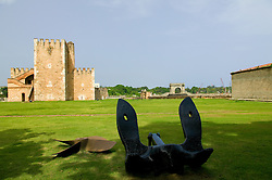 The Fortress of Santo Domingo also known as Fortelaza Ozama