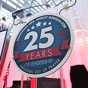 May 3 - Tuesday - Shirley Dobson's 25th Anniversary  Celebration