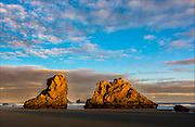 Sea Stacks, Bandon Beach, Oregon Coasat, Oregon, USA.