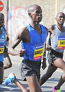 Barselius Kipyego (KEN) places fourth in 1:00:47 in the Prague Half Marathon in Prague, Czech Republic on Saturday, April 17, 2017. (Jiro Mochizuki/IOS)