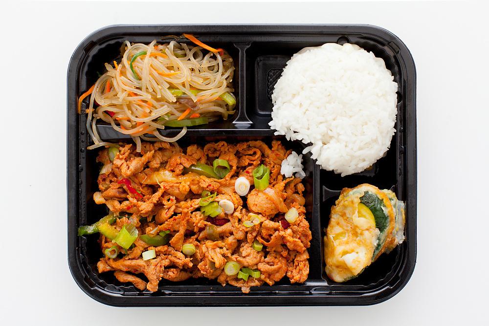 Spicy Pork from Cafe Manna ($10.83)