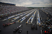 April 22-24, 2016: NHRA 4 Wide Nationals, Charlotte NC. Scenic view of ZMAX drag way in Charlotte for NHRA 4 wide nationals
