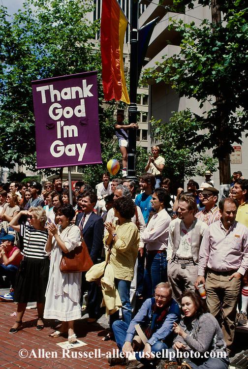 Gay Day Parade, San Francisco, California