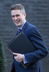Downing Street, London, February 28th 2017. Chief Whip (Parliamentary Secretary to the Treasury) Gavin Williamson attends the weekly cabinet meeting at 10 Downing Street in London.