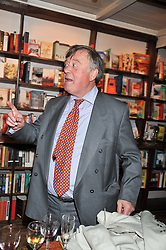 KEN CLARKE MP at a party to celebrate the publication of Sandra Howard's new book - Ex-Wives held at Daunt Books, 83 Marylebone High Street, London W1 on 30th April 2012.