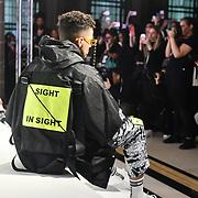 Zl by Zlism exhitbition at Fashion Scout London Fashion Week AW19 on 16 Feb 2019, at Freemasons' Hall, London, UK.
