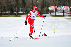 DAVIET Benjamin, FRA at the 2014 IPC Nordic Skiing World Cup Finals - Middle Distance