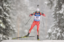 March 9, 2019 - –Stersund, Sweden - 190309 Vladimir Iliev of Bulgaria competes in the Men's 10 KM sprint during the IBU World Championships Biathlon on March 9, 2019 in Östersund..Photo: Petter Arvidson / BILDBYRÃ…N / kod PA / 92252 (Credit Image: © Petter Arvidson/Bildbyran via ZUMA Press)