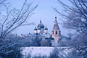 The Kremlin and Cathedral of the Nativity of the Mother of God in Suzdal, Russia.