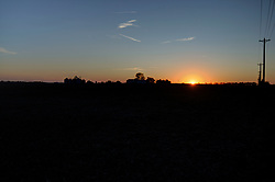 18 October 2017:   the sunsets at Randolph Illinois