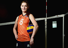20140407 NED: Volleybalteam Jong Oranje vrouwen