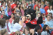 An Ole Miss pep rally in the Grove in Oxford, Miss. on Thursday, September 1, 2011.
