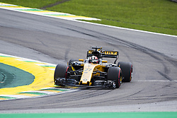November 10, 2017 - Sao Paulo, Sao Paulo, Brazil - Nov, 2017 - Sao Paulo, Sao Paulo, Brazil - NICO HULKENBERG. Free practice this Friday (10), for the Brazilian Grand Prix of Formula One that takes place next Sunday at the Autodromo de Interlagos in São Paulo. (Credit Image: © Marcelo Chello via ZUMA Wire)
