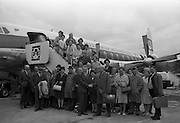 24/5/1965<br /> 5/24/1965 <br /> 24 May 1964<br /> <br /> Kent Farmers Arrive for Holiday at Dublin Airport