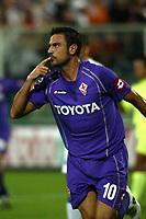 Firenze 27-08-2005<br />Campionato  Serie A Tim 2005-2006<br />Fiorentina Sampdoria<br />nella  foto Fiore esulta per il gol<br />Foto Snapshot / Graffiti