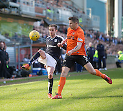 Dundee&rsquo;s Nick Ross and Dundee United's Callum Morris - Dundee United v Dundee in the Ladbrokes Premiership at Tannadice<br /> <br />  - &copy; David Young - www.davidyoungphoto.co.uk - email: davidyoungphoto@gmail.com