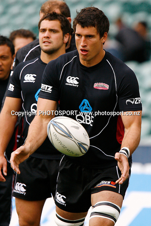 North Harbour's Anthony Boric during warmups. Air NZ Cup Rugby Union Match. North Harbour v Hawkes Bay. North Harbour Stadium, Albany, Auckland, New Zealand. Saturday 12th September 2009. Photo: Anthony Au-Yeung/PHOTOSPORT