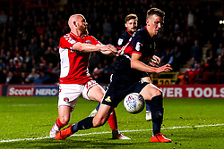 Jonathan Williams of Charlton Athletic takes on Paul Downing of Doncaster Rovers - Mandatory by-line: Robbie Stephenson/JMP - 17/05/2019 - FOOTBALL - The Valley - Charlton, London, England - Charlton Athletic v Doncaster Rovers - Sky Bet League One Play-off Semi-Final 2nd Leg