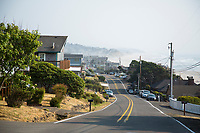 Roads End in Lincoln City, Oregon.