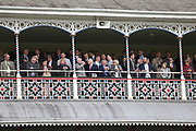 The Old County Stand is full at  the York Dante Meeting at York Racecourse, York, United Kingdom on 16 May 2018. Picture by Mick Atkins.