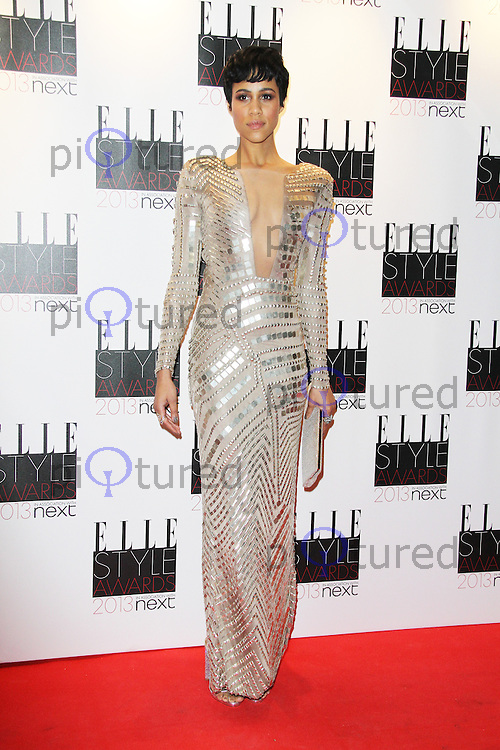 Zawe Ashton, ELLE Style Awards, The Savoy Hotel London UK, 11 February 2013, (Photo by Richard Goldschmidt)