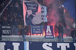 February 21, 2019 - Naples, Naples, Italy - SSC Napoli Supporters during the UEFA Europa League Round of 32 Second Leg match between SSC Napoli and FC Zurich at Stadio San Paolo Naples Italy on 21 February 2019. (Credit Image: © Franco Romano/NurPhoto via ZUMA Press)