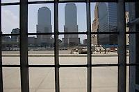 The World Trade Center site in Manhattan, New York City, New York on Wednesday, July 26, 2006.<br />