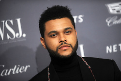 November 2, 2016 - New York, New York, USA - The Weeknd attends the WSJ Magazine Innovator Awards 2016 at Museum of Modern Art on November 2, 2016 in New York City. (Credit Image: © Future-Image via ZUMA Press)