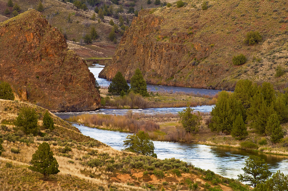 The Wild and Scenic John Day River, Oregon.