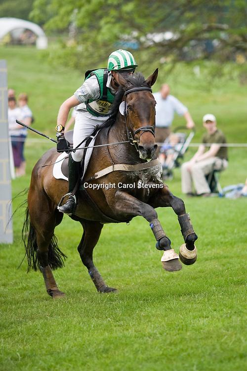 Michael Owen and Mercury Rising at Bramham Horse Trials 2010
