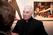 MITCHELL WINEHOUSE, Exhibition of Gerald Laing Graphics. Opening of the Morton Metropolis Gallery. Hosted by Serena Morton and Raye Cosbert.  London. 10 February 2010