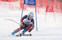 Macomber Cup at Gunstock first run mens giant slalom January 29, 2011.