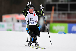 TKACHENKO Mykhaylo, UKR at the 2014 IPC Nordic Skiing World Cup Finals - Long Distance
