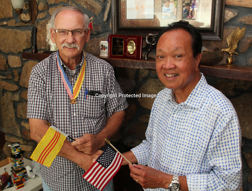 ADAM ARMOUR I BUY AT PHOTOS.ITAWAMBATIMES.COM<br /> After more than 40 years, Mantachie&rsquo;s Glenn Parrish recently reunited with Vietnam native Dzuong &ldquo;John&rdquo; Nguyen, who traveled to Mississippi from California for the visit. The two served on the same air base in the 1970s during the Vietnam war. After Parrish returned home, Nguyen was imprisoned by the North Vietnamese.