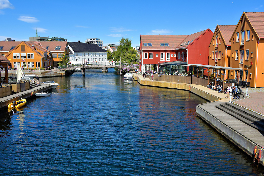 Fiskebrygga Former Fish Wharf in Kristiansand, Norway<br />